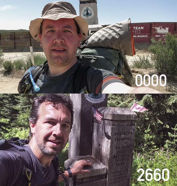 Нулевая и 2660-я миля