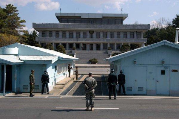 7. Северная и Южная Корея в мире, граница
