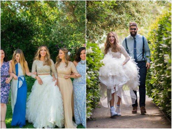 необычные свадебные платья, нетрадиционные свадебные платья