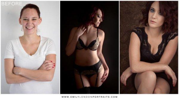 фотограф превращает женщин в красавиц, Эмили Лондон