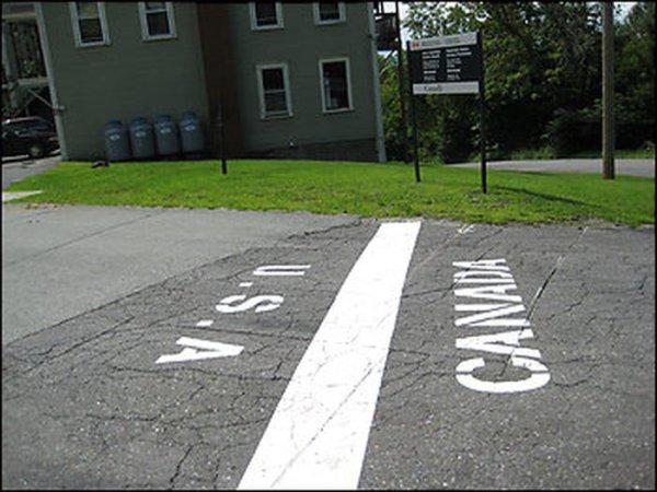 5. Канада и США в мире, граница