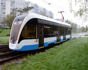 односекционные трамваи вышли на маршруты на северо-западе столицы